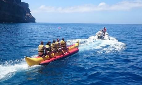 Paseo en banana y/o dónut hinchable desde 12,90 € en Gran Canaria Water Sport Oferta en Groupon