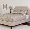 Tufted Upholstered King Size Platform Bed. Multiple Colors Available.