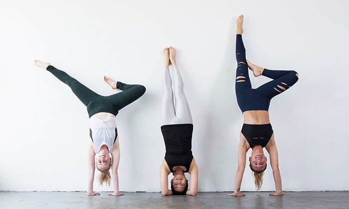 YogaWorks - Multiple Locations: Five Yoga Classes or One Month of Unlimited Yoga Classes at YogaWorks (Up to 64% Off)