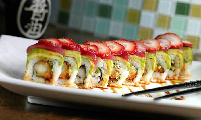 Piranha Killer Sushi - Alamo Heights The Quarry: $22 for $40 Worth of Pan-Asian Cuisine at Piranha Killer Sushi
