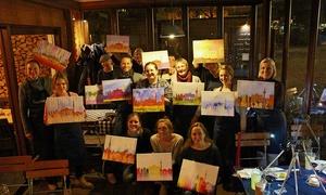 ArtNight UG Haftungsbeschränkt: Painting-Party auf dem Holy Festival Berlin inkl. Getränk bei ArtNight UG Haftungsbeschränkt (bis zu 36% sparen*)