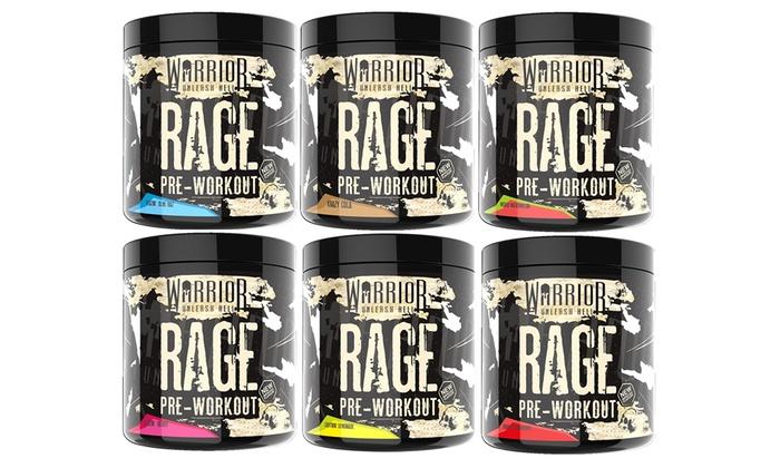 Warrior Rage Pre-Workout Protein Supplements