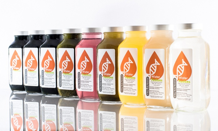 Water Fusions - Salt Lake City: 3-Day Juice Cleanse or 14-Day Vitamin Detox Cleansing Kit at Water Fusions (Up to 44% Off)