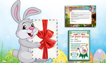 Digital Letter from Easter Bunny for One ($2.99) from Easter Bunny Mail (Up to $79.60 Value)