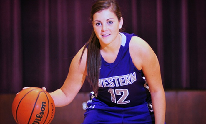 University of Western Ontario Mustangs Basketball - TD Stadium: University of Western Ontario Mustangs Basketball Double-Header for Two or Four at Alumni Hall (Up to 58% Off)