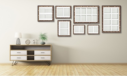 One or Three MultiAperture Wall Frames