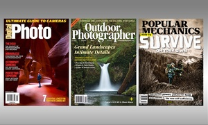 Digital Photo, Outdoor Photographer, and Popular Mechanics Magazines: One-Year Subscription to Digital Photo, Popular Mechanics, or Outdoor Photographer Magazine (Up to 33% Off)