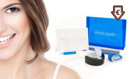 1 ou 2 kits premium de blanchiment dentaire 9 pièces à lumière LED sans peroxyde, dés 9,99€ (jusqu'à 92% de réduction)