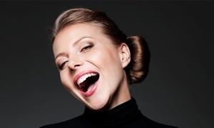 """smilestore Zahnkosmetik Studio: 45 Min. kosmetische Zahnaufhellung """"Intensiv"""", opt. mit Pflegepaket bei Smilestore (bis zu 38% sparen*)"""
