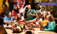 Großes Gelage an der Rittertafel mit 7 Gängen für 1 oder 2 Personen im Restaurant Kauzenburg (25% sparen*)