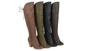 Journee Collection Women's Wide-Calf Over-the-Knee Boots