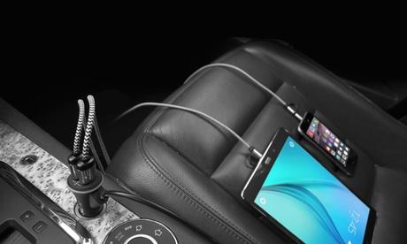 Uno o 2 caricabatterie USB Avanca per auto che ricaricano fino a...