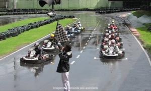 Kartódromo Internacional de Volta Redonda: Corrida de kart de 6,5 HP para 1 pessoa por 20 minutos no Kartódromo Internacional de Volta Redonda