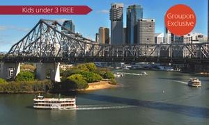 Kookaburra Showboat Cruises: Two-Hour Brisbane Sightseeing Cruise - One ($18) or Four People ($69) with Kookaburra Showboat Cruises (Up to $80 Value)