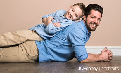 image for Photo Shoot with Prints and Optional Digital Image at JCPenney Portraits (Up to 90% Off)