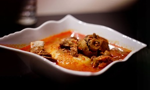 Steppers Restaurant & Lounge: Pikantes afrikanisches Gericht für zwei oder vier Personen bei Steppers Restaurant & Lounge (bis zu 52% sparen*)