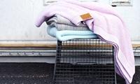 Hawke&Thorn Decke aus handgewebter Baumwolle für kühle Nächte im Design und in der Farbe nach Wahl