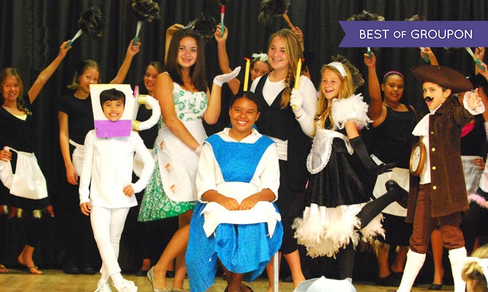 Kids' Musical Theater Summer Camp (Up to 50% Off). Multiple Dates and Locations Available.