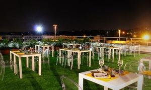 Suite Erba: Cena in terrazza sotto le stelle e dj set per 2 persone al Suite Erba (sconto fino a 64%)