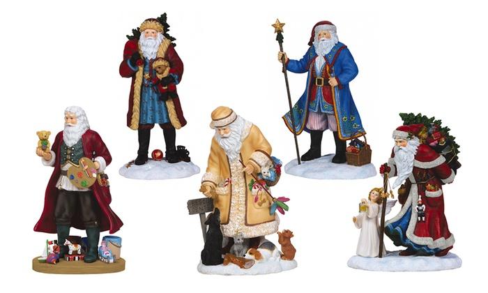 Pipka santa figurines groupon goods