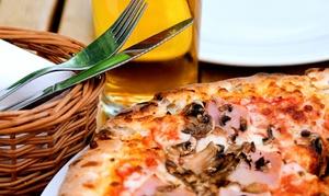 Ristorante Le Lune ( nuova gestione ): Menu pizza con dolce e birra per 2 o 4 persone da Ristorante Le Lune (sconto fino a 66%)
