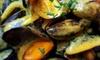 Moules frites à la sauce maroilles et desserts pour 2 personnes à 29,90 € au restaurant La Chti Alsace