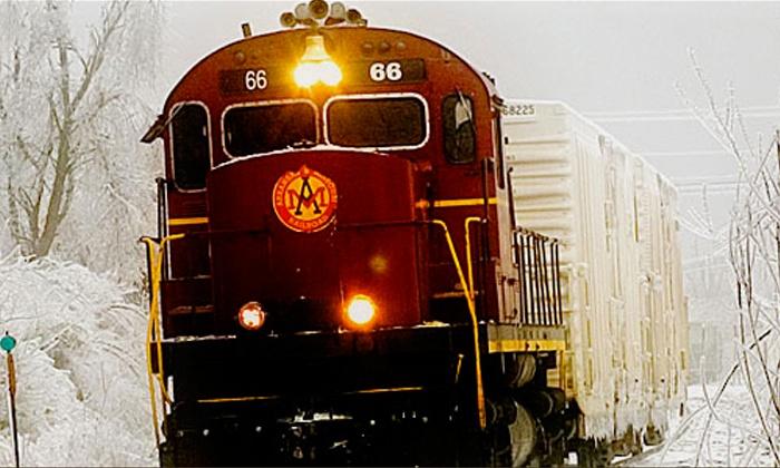 Arkansas & Missouri Railroad - Van Buren Depot: Winter Train Excursion and Optional Lunchfor Two or Four from Arkansas & Missouri Railroad (Up to 54% Off)