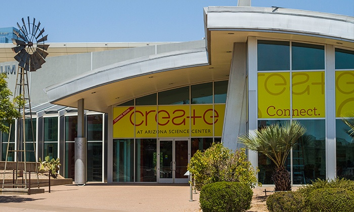 Arizona Science Center - Arizona Science Center : CREATE Challenge of your Choice and General Admission to Arizona Science Center for One or Two (Up to 53% Off)