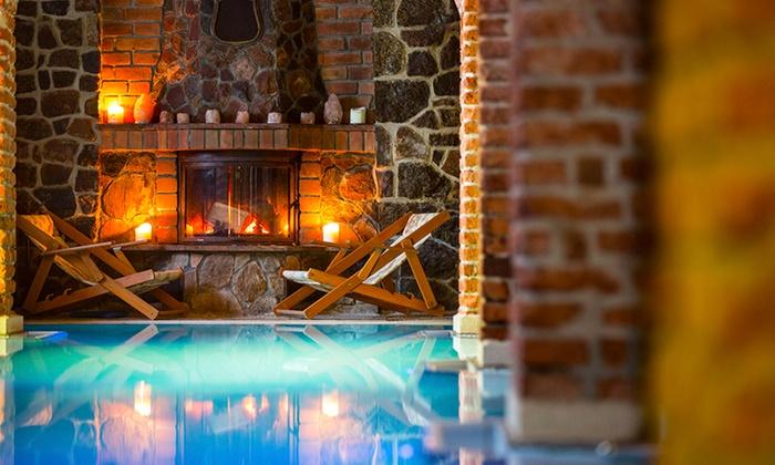Mazury: pokój w zamku ze śniadaniem i sauną