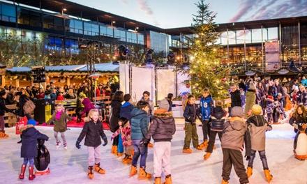 2 uur schaatsen bij Winter Village in Amstelveen, Laren of Schiedam