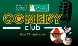 Northampton Saints Rugby Club: Entry for One to Sin Bin Comedy Club at Franklin Gardens (Up to 54% Off)