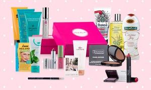 """metacrew group: Pink Box im Abo mit der Sonderedition """"Grazia for Pink Box"""" + gratis Pink Box """"Reiseziel Beauty"""" (50% sparen*)"""