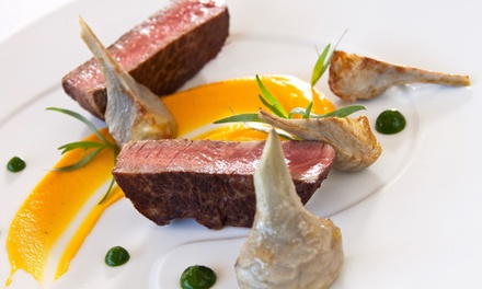Menu en 3 services avec entrée, plat et dessert pour 2 personnes, à 44,90 € au restaurant Le Bataclan