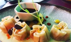 Cocoifaro Sushi: Menu giapponese da 4 portate e calice di vino per 2 o 4 persone al ristorante Cocoifaro Sushi (sconto fino a 72%)