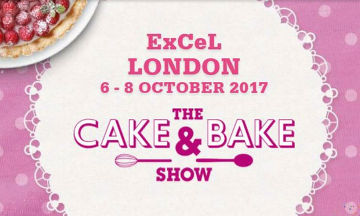 The Cake & Bake Show - ExCel: The Cake & Bake Show, 6–8 October at ExCeL (Up to 50% Off)