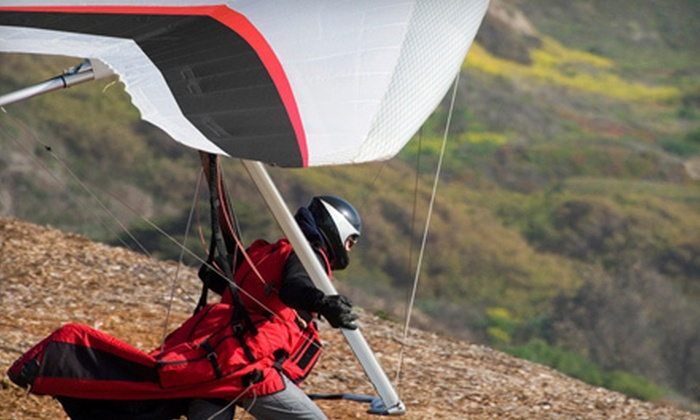 Sportations - Whitewater: $139 for a Hang-Gliding Experience from Sportations in Whitewater (Up to $259.99 Value)
