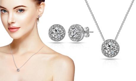 Pendientes y/o collar Philip Jones con cristales Swarovski®