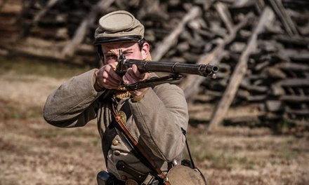 Civil War Reenactment for Two, Four, or Six at Historic Latta Plantation (Up to 44% Off)