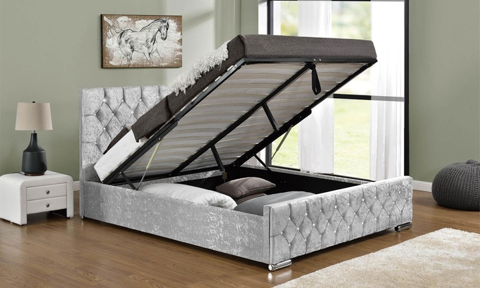Arya Ottoman Bed with Optional Mattress