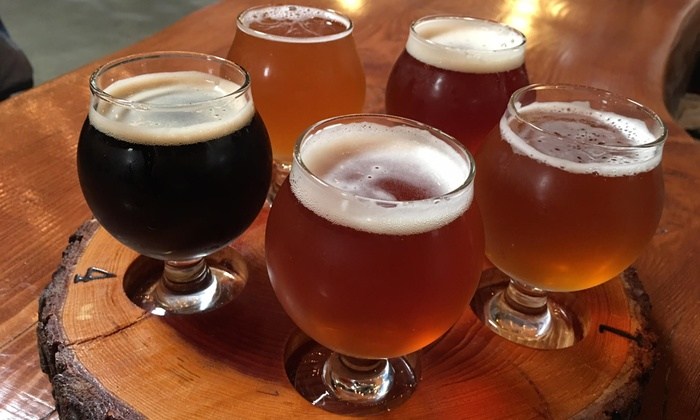 Mt. Lowe Brewing Company - Arcadia: Beer Tasting for Two or Four at Mt Lowe Brewing Company (Up to 50% Off)