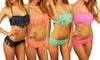 Bikini à franges pour femme