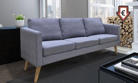 Canapé Stockholm 2 et/ou 3 places, coloris au choix et livraison offerte