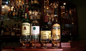 The Market Bar: Whiskey Tasting for One or Two at Whiskey Bar at The Market Bar (Up to 44% Off)
