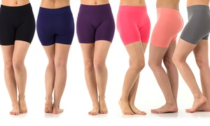 Sociology Women's Seamless Shorts (6-Pack) at Sociology Women's Seamless Shorts (6-Pack), plus 6.0% Cash Back from Ebates.