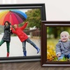 Up to 83% Off Custom Framed Textured Photo Prints from MailPix