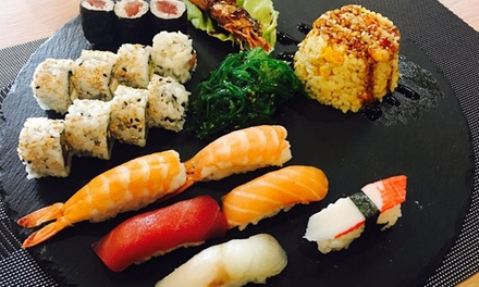 Menu sushi All you can asiatco e italiano