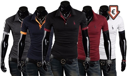 Pack 2 polos manches courtes pour homme