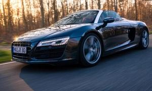 WSU Autovermietung: R8-V10 Spyder od. Coupé selber fahren inkl. Einweisung u. ohne Instruktor bei WSU Autovermietung (bis zu 69% sparen*)