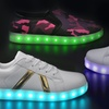 Gleamkicks Unisex USB Charging LED Light Up Sneakers (4 Styles)