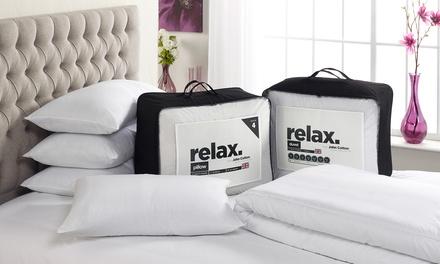John Cotton Relax Duvet and Four Pillows